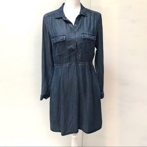 EUC Fossil Lightweight Denim Dress Size M
